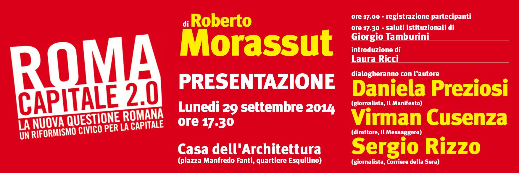 Morassut convegno 29 sett 2014