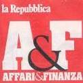 affari e finanza logo