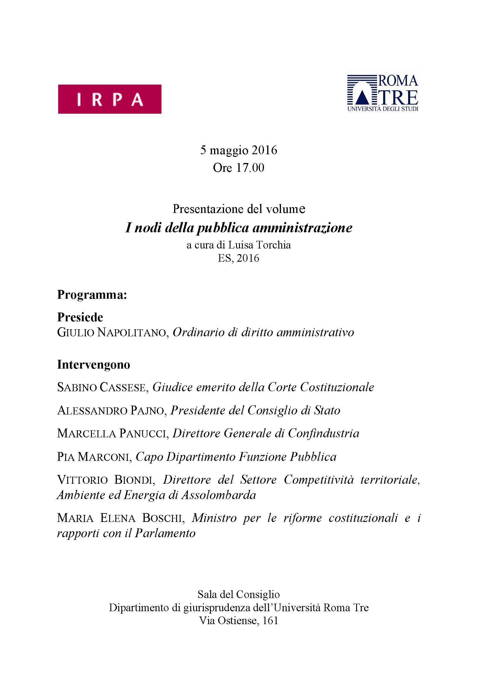 locandina-5-maggio-presentazione-volume-i-nodi-della-PA